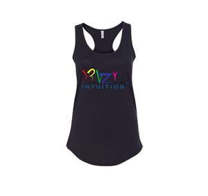 KRAZY INTUITION APPAREL PREMIUM RACER BACK TANK TOP - WOMEN'S SLIM FIT
