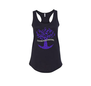 ROOTED FROM THE SOUL APPAREL PREMIUM RACER BACK TANK TOP - WOMEN'S SLIM FIT