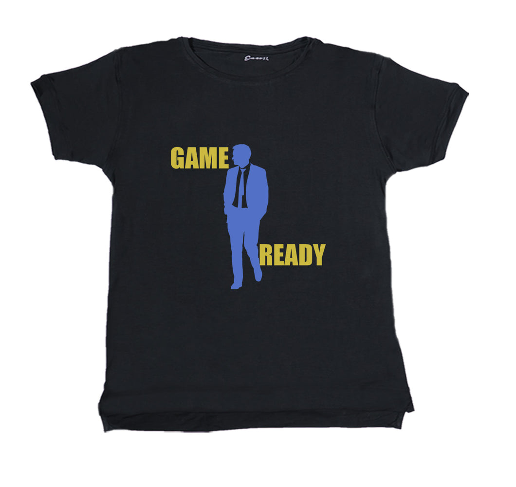 GAME READY PREMIUM T-SHIRT PRINT - UNISEX SLIM FIT