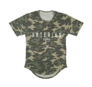 ARTERIUS TERRELL APPAREL PREMIUM LONG TAIL T-SHIRT - UNISEX SLIM FIT
