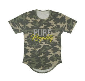 PURE ROYALITY PREMIUM LONG TAIL T-SHIRT - UNISEX SLIM FIT