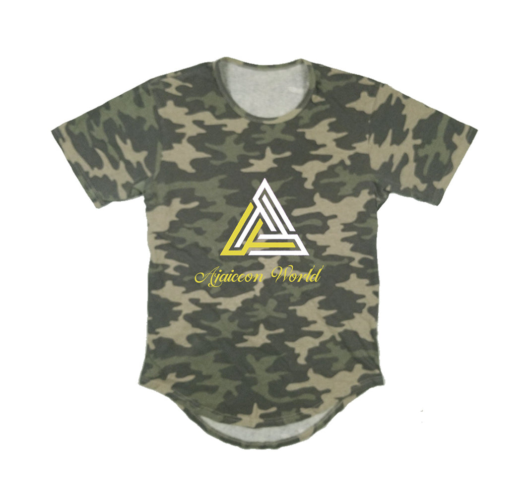 AJAICEON WORLD APPAREL PREMIUM LONG TAIL T-SHIRT - UNISEX SLIM FIT