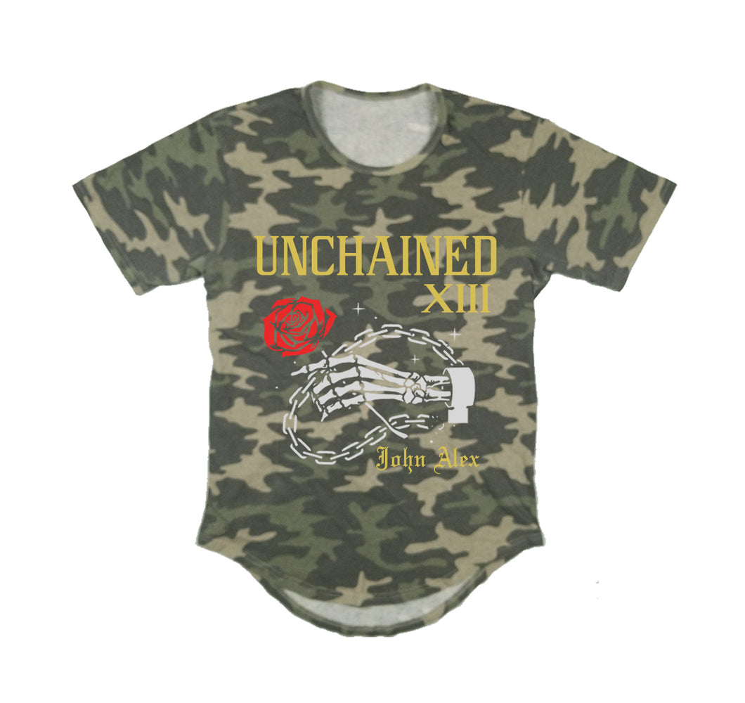 UNCHAINED APPAREL PREMIUM LONG TAIL T-SHIRT - UNISEX SLIM FIT