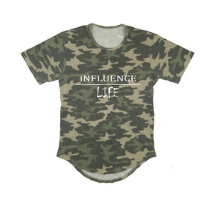 INFLUENCE LIFE APPAREL PREMIUM LONG TAIL T-SHIRT - UNISEX SLIM FIT