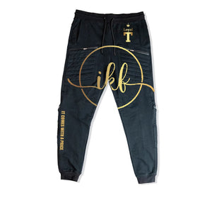 LOYAL T APPAREL PREMIUM 4 ZIPPER POCKET JOGGERS - UNISEX SLIM FIT