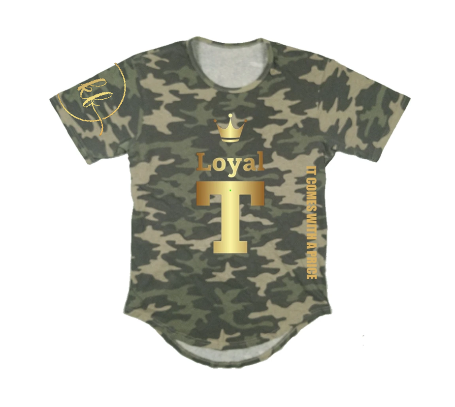 LOYAL T APPAREL PREMIUM LONG TAIL T-SHIRT - UNISEX SLIM FIT