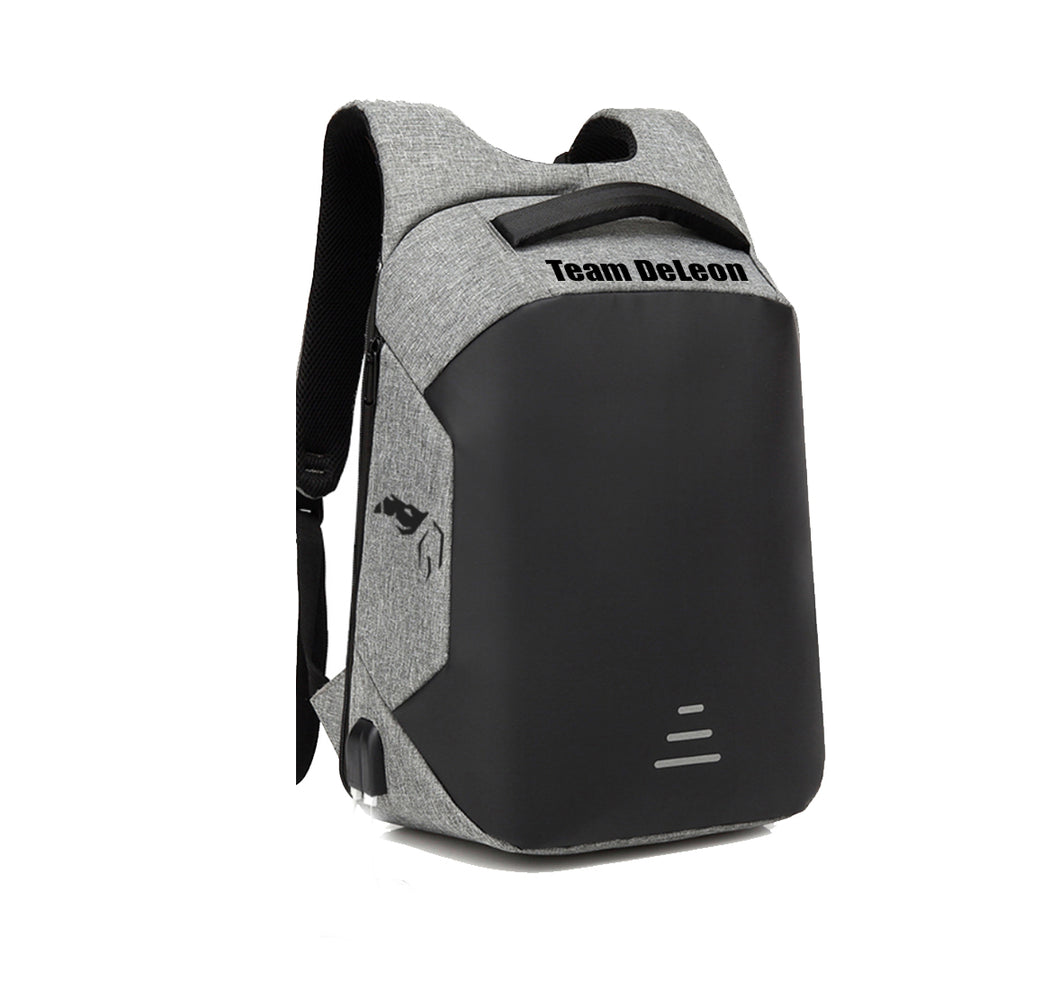 TEAM DELEON HARD SHELL BACKPACK w/ BATTERY SUPPORT