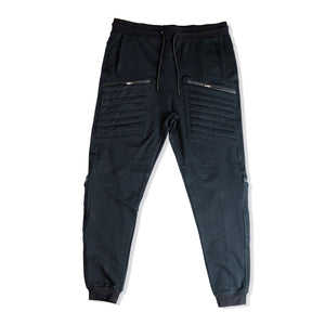 STORM FRENCH TERRY JOGGERS W/ ZIPPER POCKETS