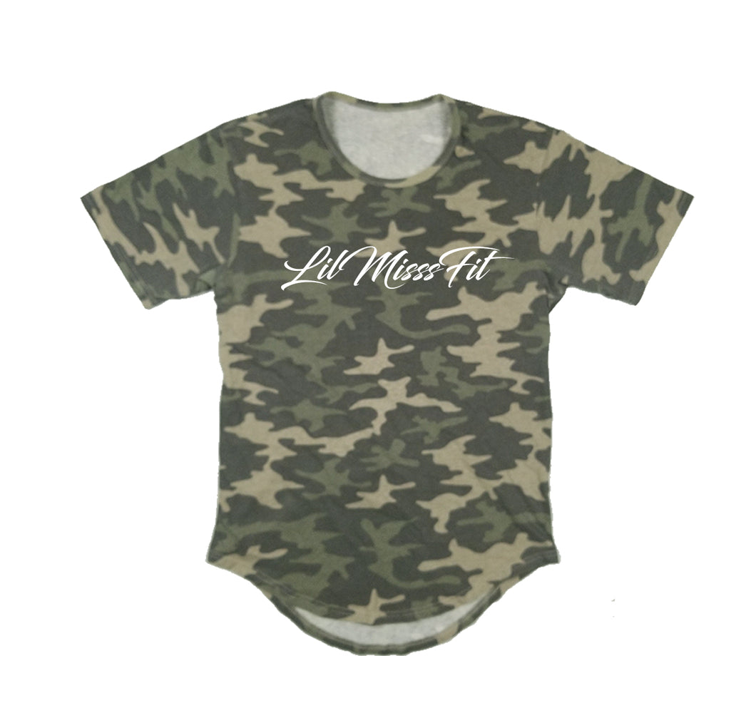 LILMISSSFIT PREMIUM LONG TAIL T-SHIRT - UNISEX SLIM FIT