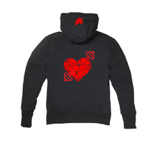 Load image into Gallery viewer, LOVE SWEATS PREMIUM SIDE ZIPPER HOODY - UNISEX