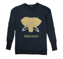 Load image into Gallery viewer, DIMIOURGIKO PREMIUM LONG SLEEVE SHIRT - UNISEX SLIM FIT