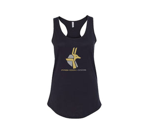 FASHION GODS PREMIUM RACER BACK TANK TOP - WOMEN'S SLIM FIT