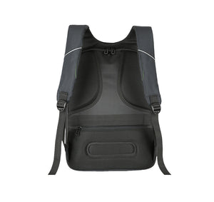HUSTLE AUTHORITY HARD SHELL BACKPACK w/ BATTERY SUPPORT