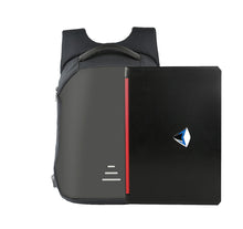 Load image into Gallery viewer, QWEENIN APPAREL HARD SHELL BACKPACK w/ BATTERY SUPPORT