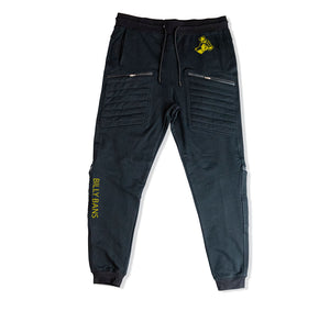 BILLY BANS PREMIUM 4 ZIPPER POCKET JOGGERS - UNISEX SLIM FIT