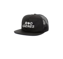 Load image into Gallery viewer, BAD GENES 5 PANEL TRUCKER MESH HAT