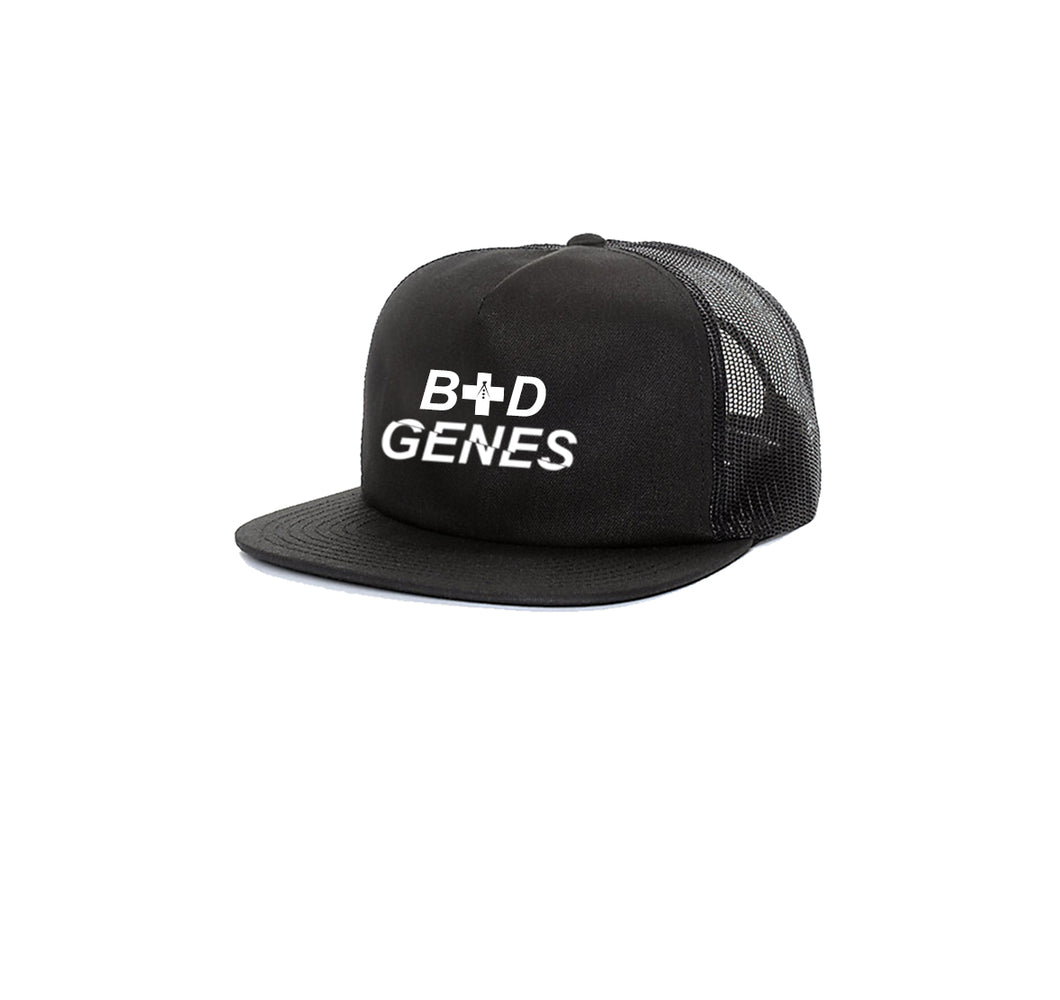 BAD GENES 5 PANEL TRUCKER MESH HAT
