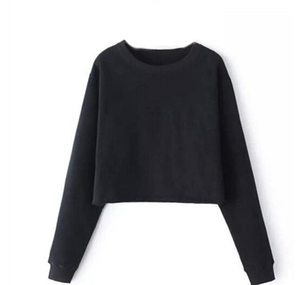 CROP TOP SWEATER - WOMEN'S (COMING SOON)