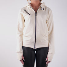 Load image into Gallery viewer, GRAZIANA LIGHTWEIGHT FRENCH TERRY HOODY - CREAM