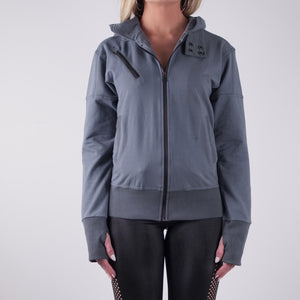 STORM LIGHTWEIGHT FRENCH TERRY HOODY - GREY