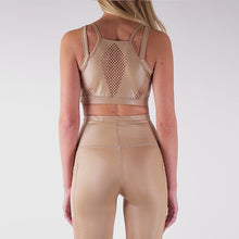 Load image into Gallery viewer, ILARIA LIQUID SPORT TOP - GOLD