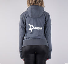 Load image into Gallery viewer, STORM LIGHTWEIGHT FRENCH TERRY HOODY - GREY