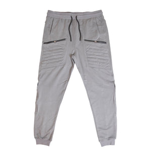 LAROSA FRENCH TERRY JOGGERS W/ ZIPPER POCKETS