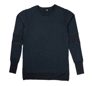FRENCH TERRY PREMIUM LONG SLEEVE SHIRT - UNISEX SLIM FIT