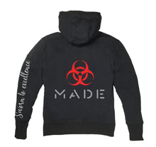 Load image into Gallery viewer, MADE APPAREL PREMIUM SIDE ZIPPER HOODY - UNISEX