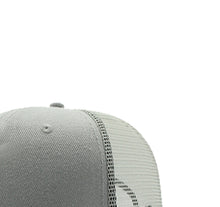 Load image into Gallery viewer, JUST KICKIN IT APPAREL 5 PANEL TRUCKER MESH HAT