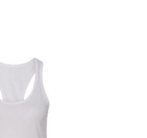 HUSTLE AUTHORITY PREMIUM RACER BACK TANK TOP - WOMEN'S SLIM FIT