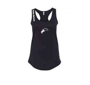 TEAM DELEON PREMIUM RACER BACK TANK TOP - WOMEN'S SLIM FIT