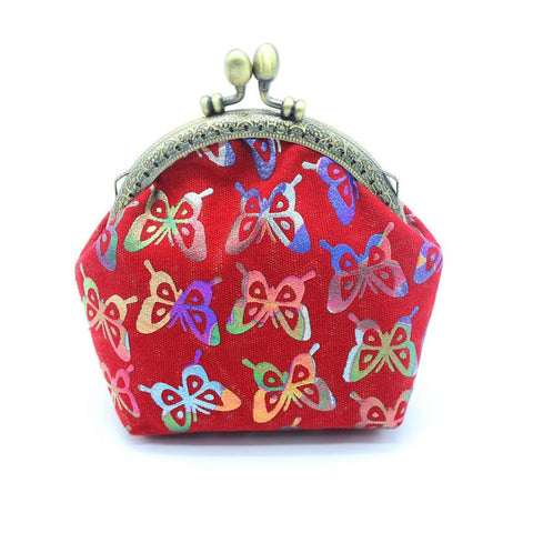 Women Wallets Lady Vintage Butterfly Small Wallet Purse Clutch Bag
