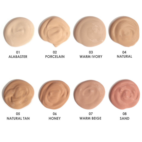 2018 New Arrival 8 Colors Face Makeup Cream Foundation BB Cream Cosmetic Water proof Long-lasting Liquid Foundation
