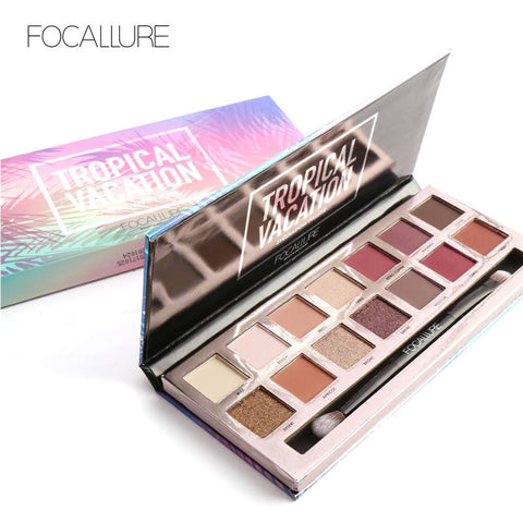 14 Earth Color Matte Pigment Glitter Eyeshadow Palette Cosmetic Makeup Set  Eye Shadow Palettes