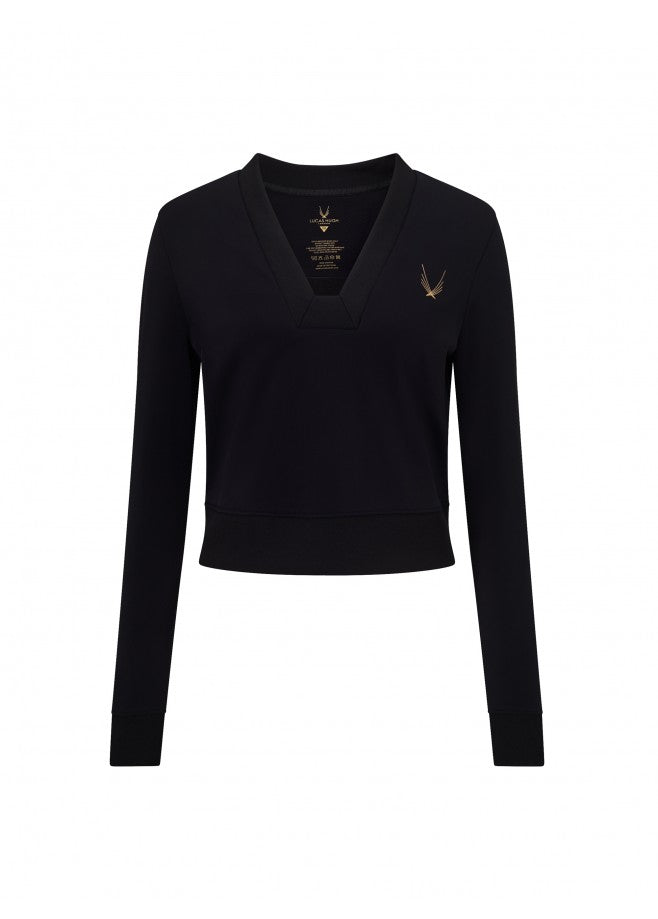 Carbon Crop Sweatshirt