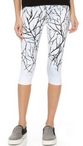 Winter Tree Crop Leggings