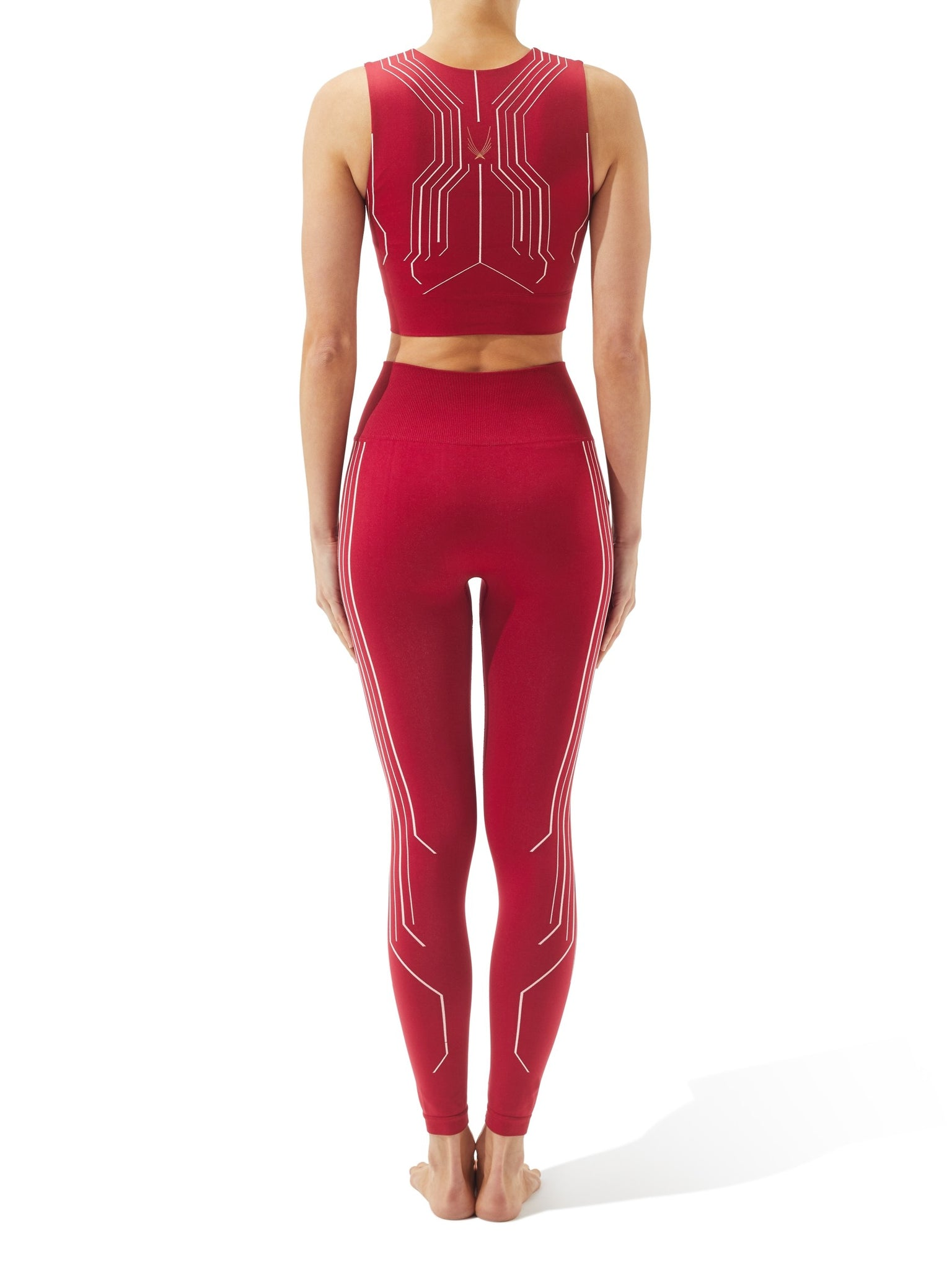 Hyper Leggings Garnet