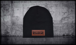 Bringing Veterans Leather Beanie