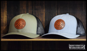 IW Circle Leather Patch Snap Back