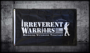 Single Sided Irreverent Warriors Flag