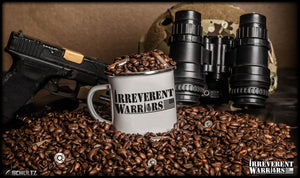 Irreverent Warriors Logo Mug