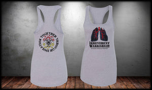Through Isolation Lungs Ladies Tank