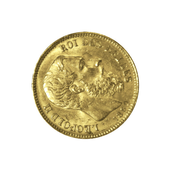 1/10 Oz Belgium Francs Gold Coin