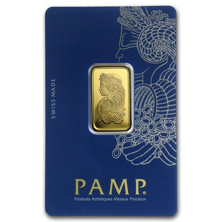 10g Pamp Suisse Gold Bar,With Certificate