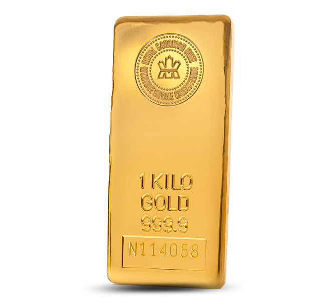Gold Bar | 1 kg | 0.9999 | Royal Canadian Mint