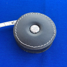 Sew Delicious Retractable Black Leather Tape Measures