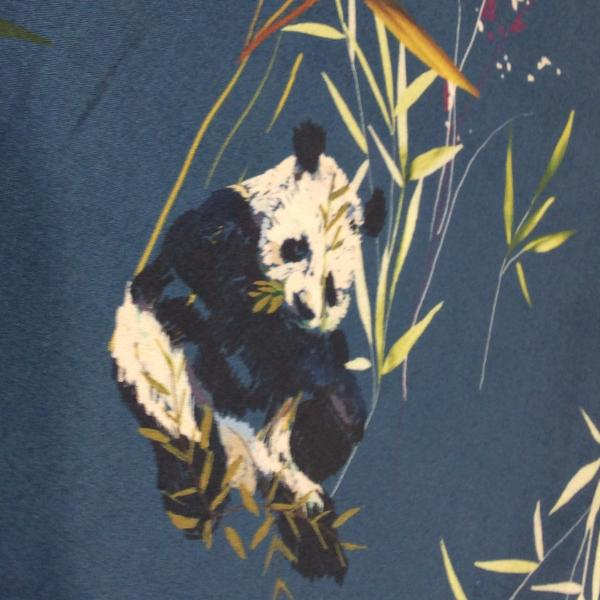 Lady McElroy Panda Retreat Cotton Print