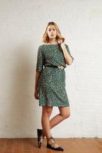 Atelier Jupe Dark Green Animal Print Viscose