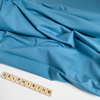 Delphinium Cotton Jersey
